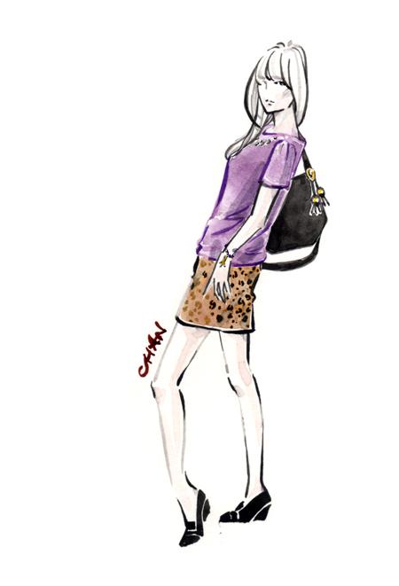 보석 타투와 패션