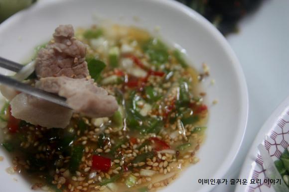 자취녀의 계절밥상(여름)-삼겹살 물텀벙 찜,..