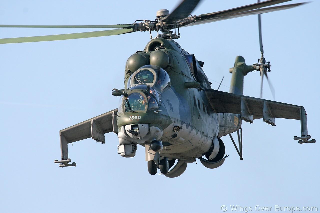 체코의 Mi-24 공격헬기를 도입하려는 이라크