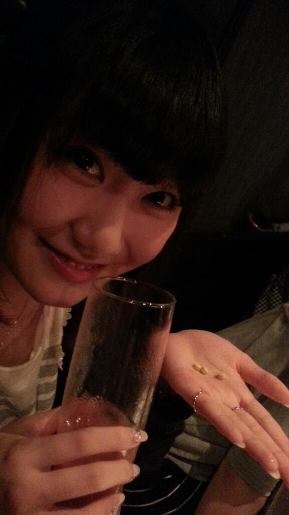 만 20세 생일이 지난 성우 히다카 리나가 처음으로 술을..