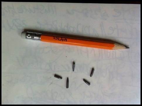 20140627 一日一촭 : 연필깎이