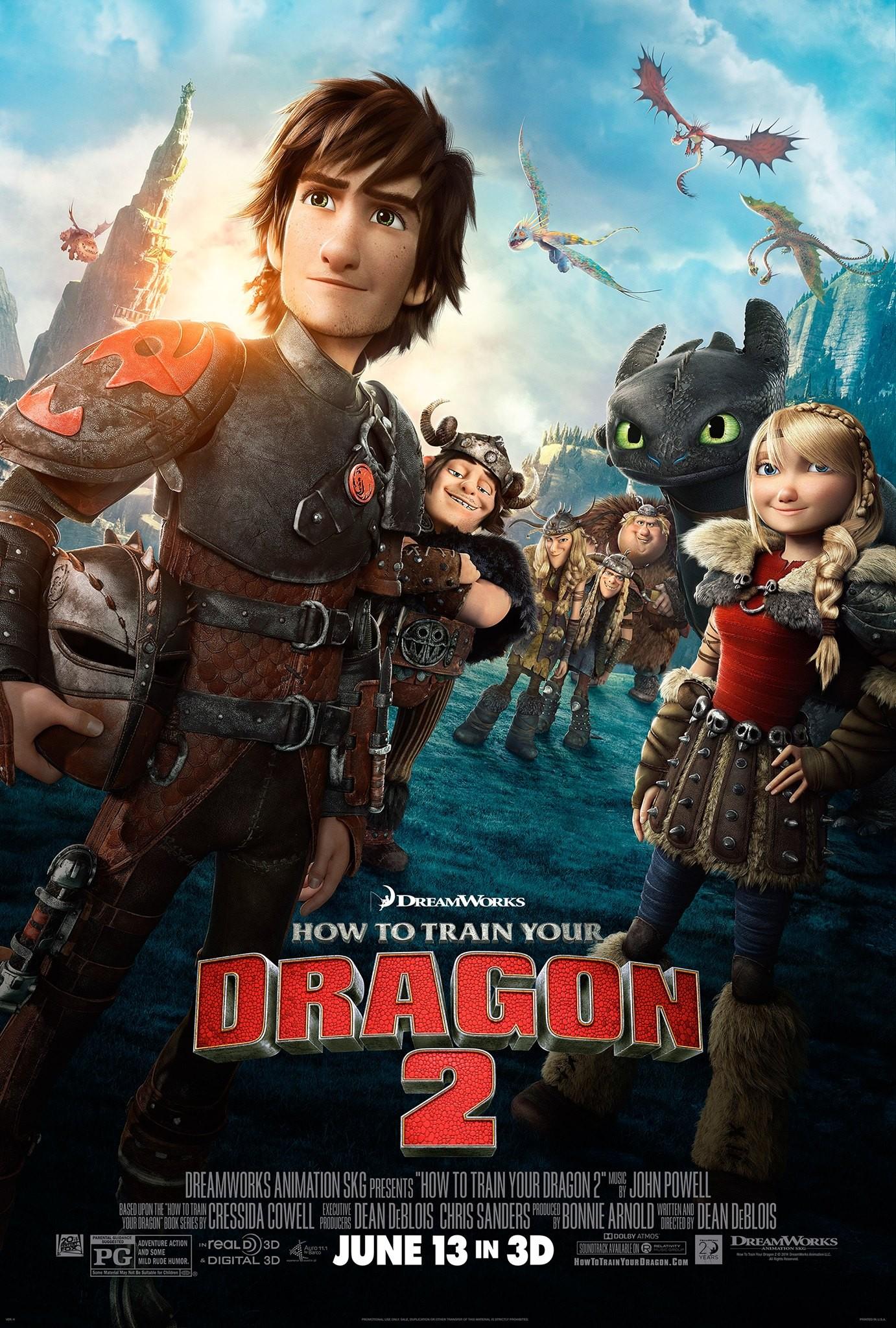 드래곤 길들이기 2 (How to Train Your Dragon 2, 2..