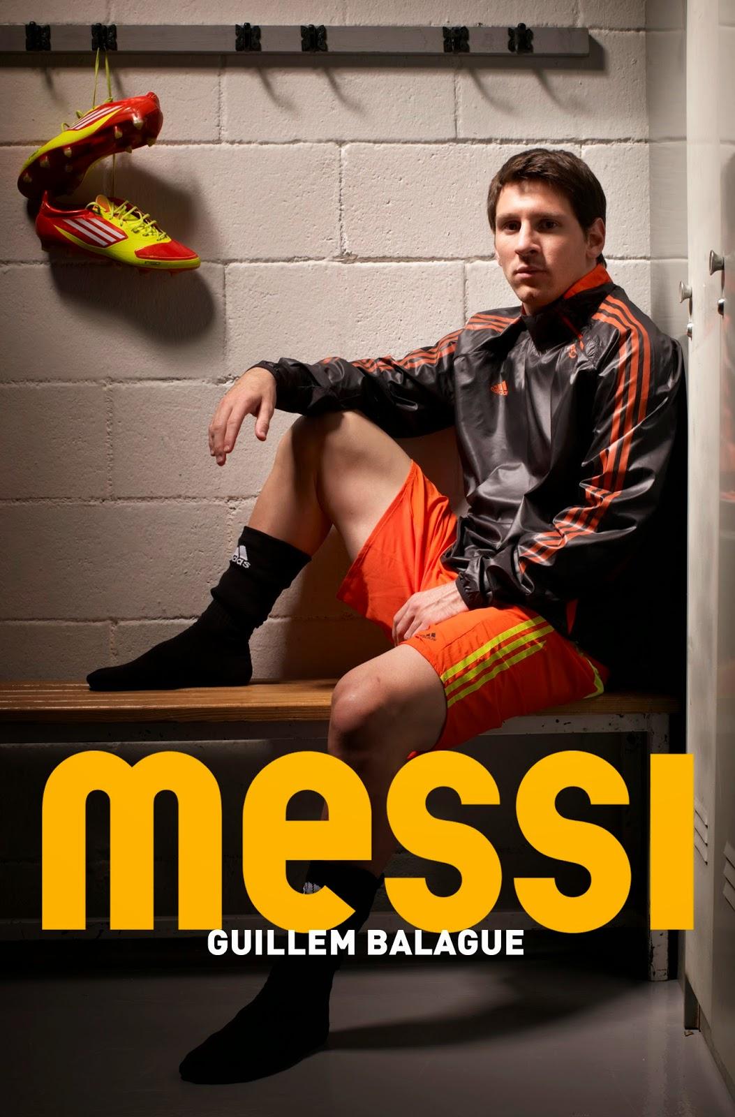"""메시에 관한 다큐멘터리, """"MESSI"""" 입니다."""