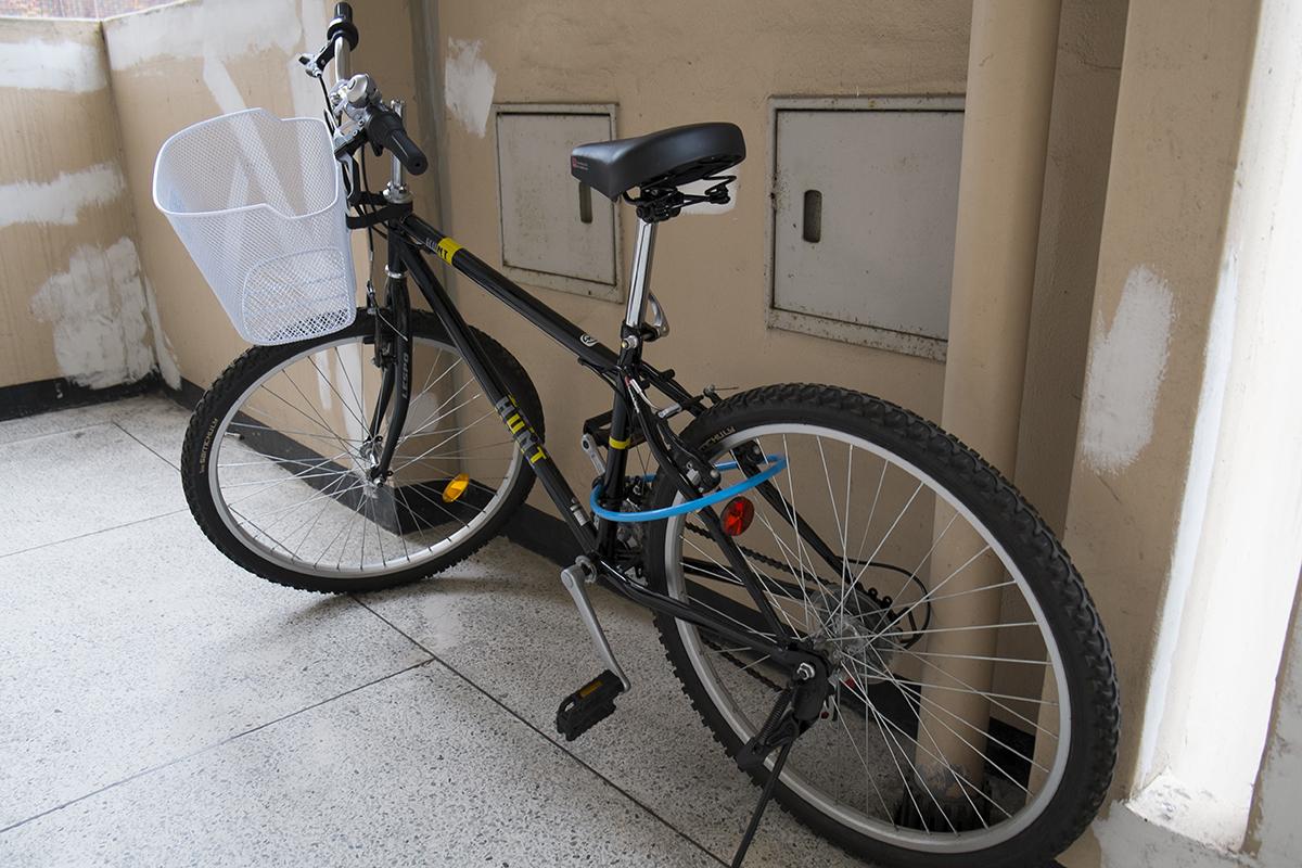 보통 자전거를 샀습니다