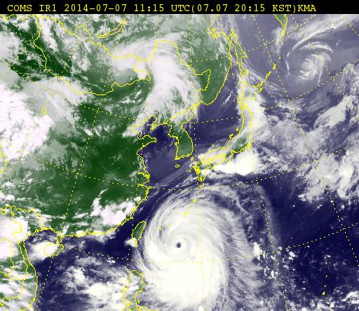 태풍 지나가자 마자 6.8 지진 연타