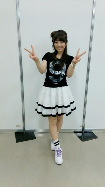 성우 카토 에미리씨가 자신의 블로그에 올린 사진