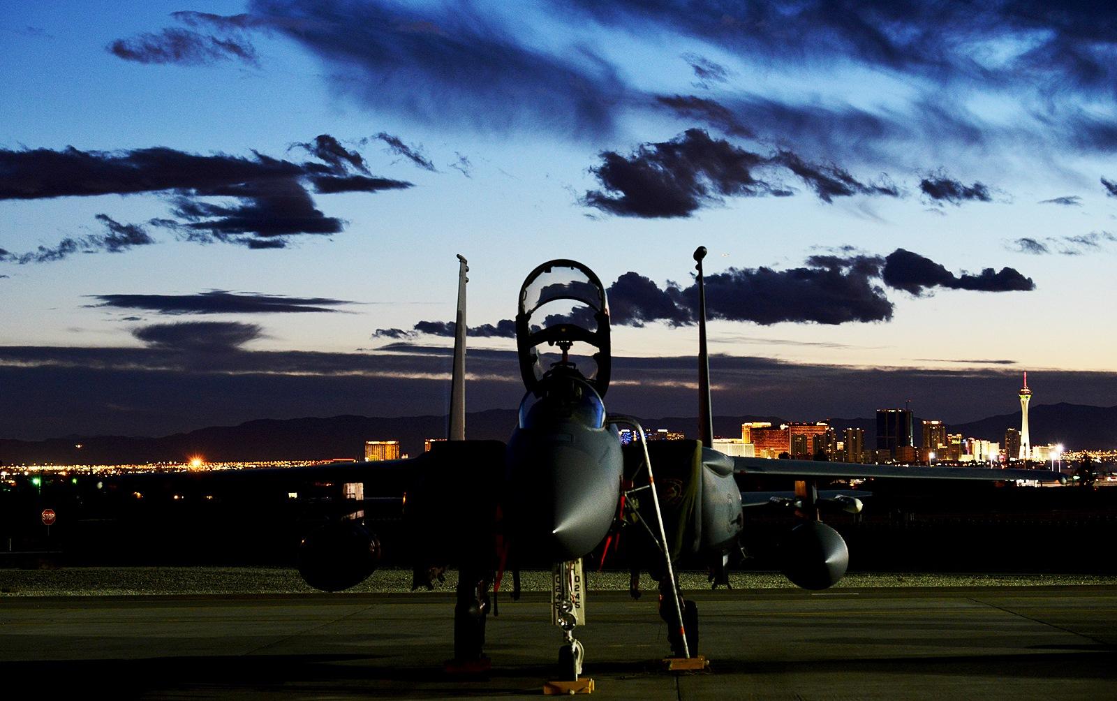 오산기지에 F-15E Strike Eagle 12대 전개 예정