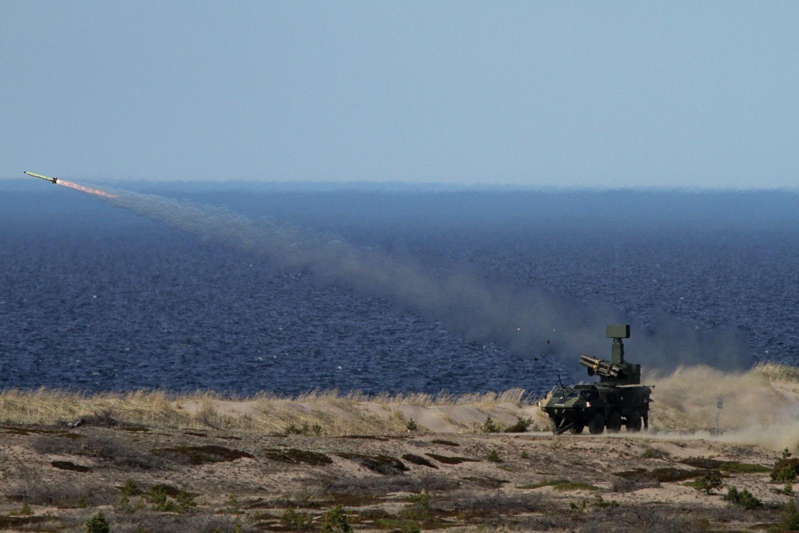 핀란드육군 ITO 90MOD 대공미사일 (Crotale NG)..