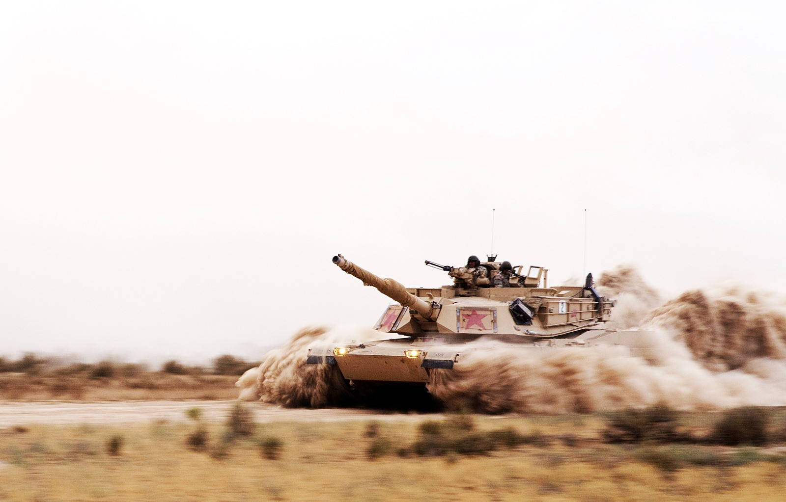 미 주방위육군 M1A2 SEP와 M1A1 전차 가상 전술 ..
