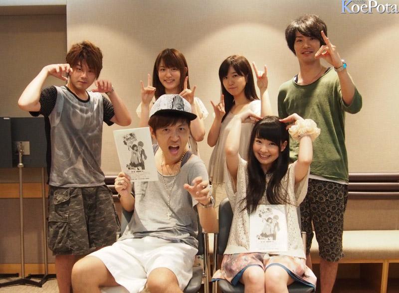 2014년 10월 신작 '늑대소녀와 흑왕자' 출연 성우진 사진