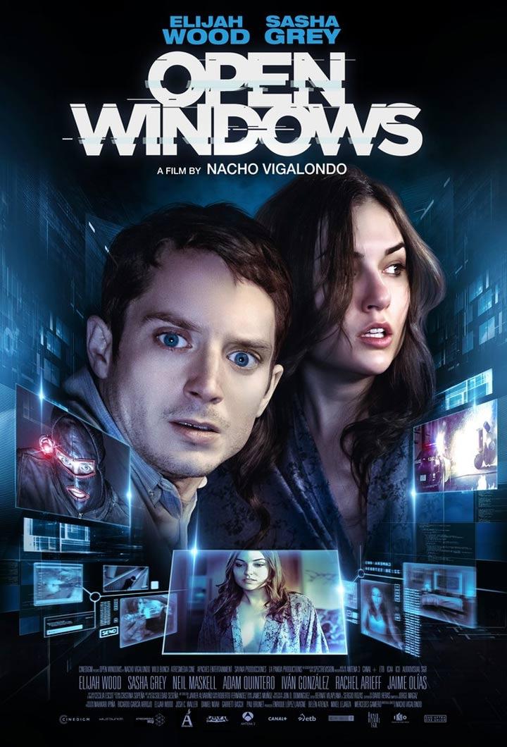 """일라이저 우드의 범죄 스릴러물, """"Open Windows"""".."""