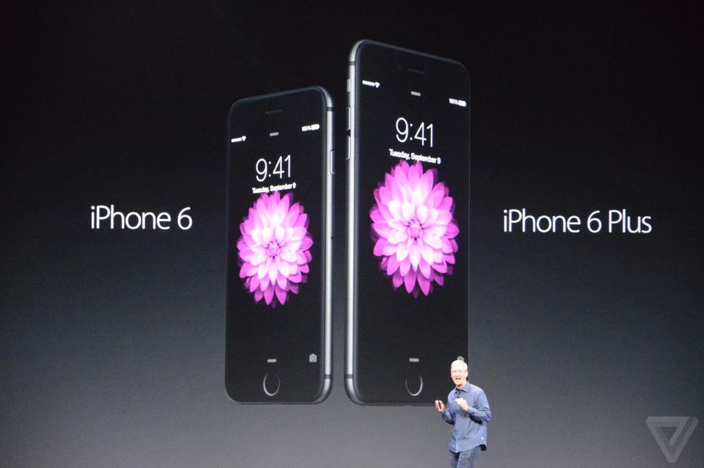 Apple 아이폰6/아이폰6+ 발표.