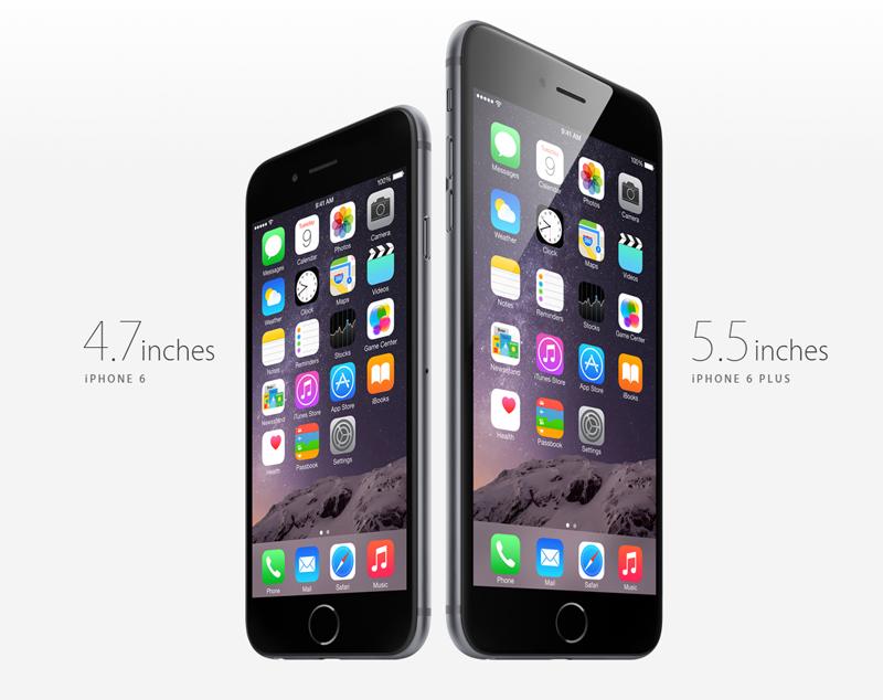 애플, 아이폰6 / 아이폰6 plus 공식 발표