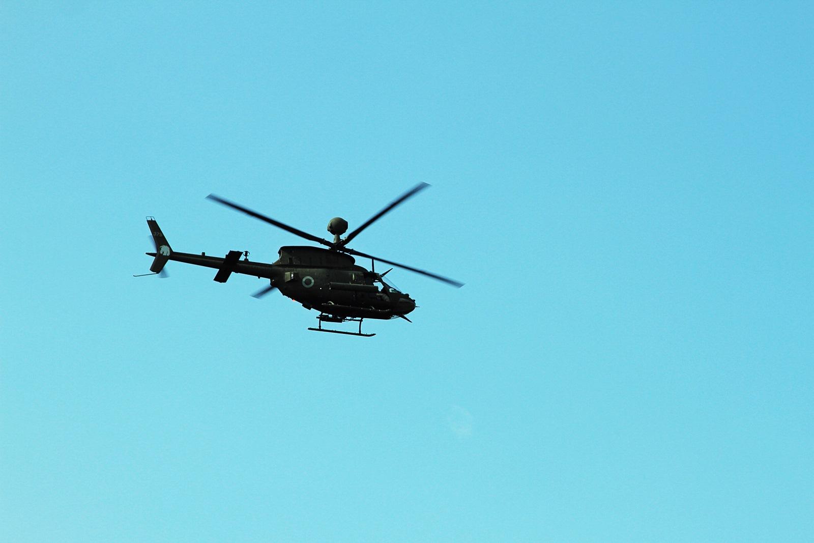주한미군 OH-58D Kiowa Warrior 실사격 훈련