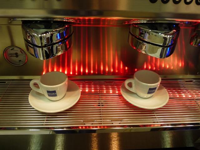 벡스코(BEXCO) 신관, 제2전시장에서 열린 카페..