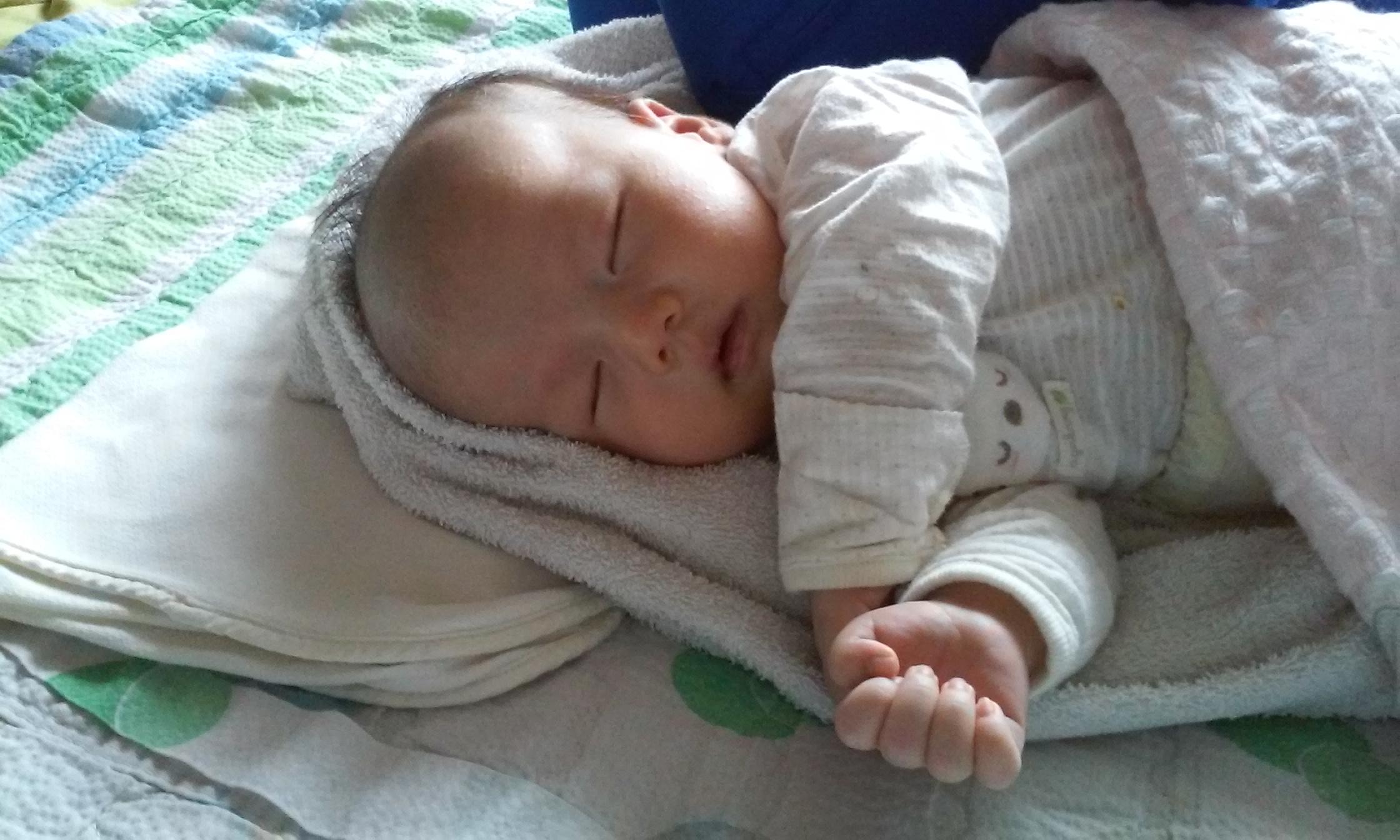 [1개월(39days)] 아기 첫 통장 시도 실패