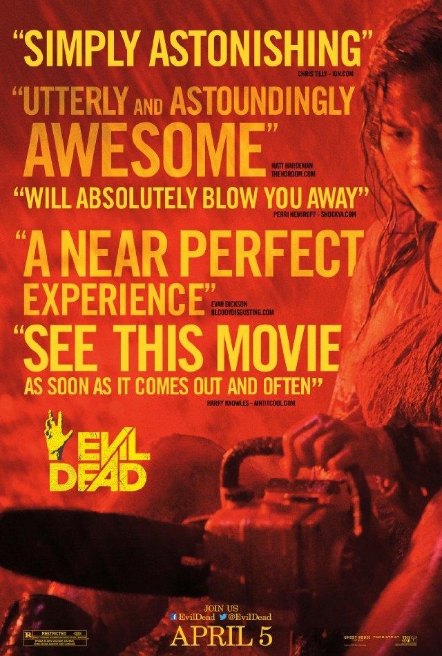 (리뷰) 이블 데드(The Evil Dead, 2013)(리..