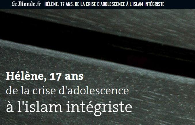 [프랑스]엘렌, 17세, 위기의 무슬림 소녀 -(1)