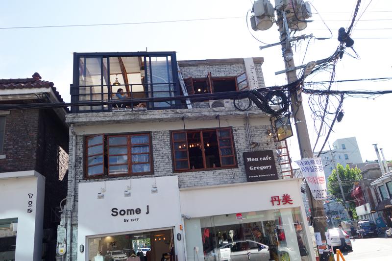 [합정] 카라멜 락떼와 크렘 단쥬 '몽 카페 그레고리'