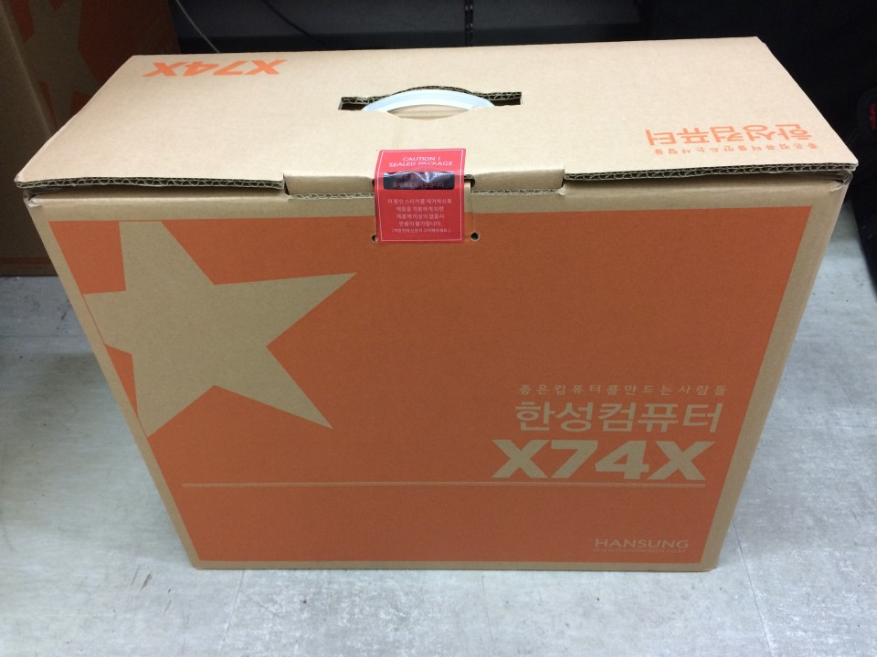 한성컴퓨터 X74X-BossMonster One X9 개봉기