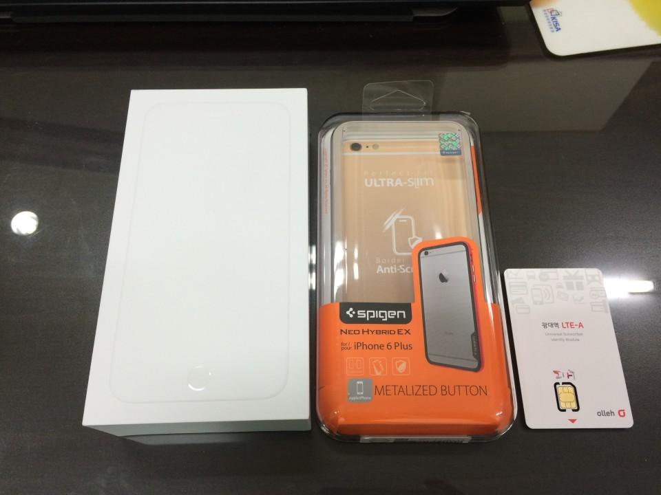 iPhone6 Plus - 은사과 128GB 겨우 구했습니다(..