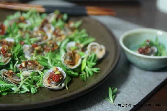 자취녀의계절밥상(겨울)-꼬막 폼나게 담는 tip