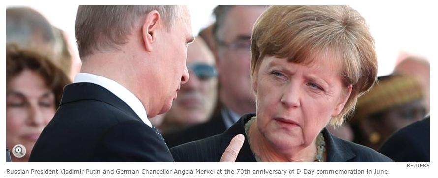 발칸반도에서 푸틴과 메르켈의 결투?