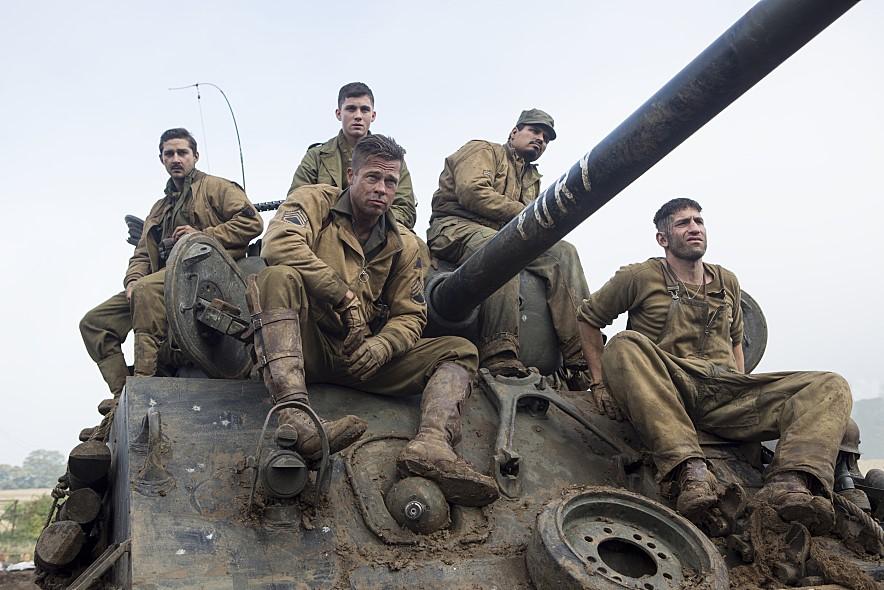 [퓨리] 애매한 탱크 영화