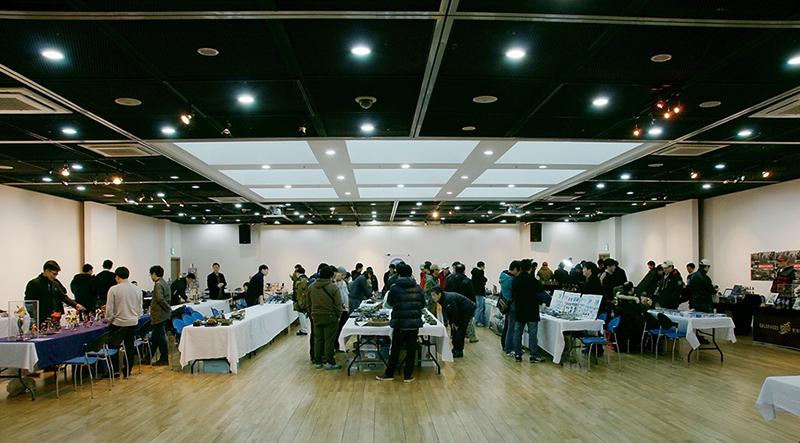 제3회 IPMS KOREA 전시회 사진들