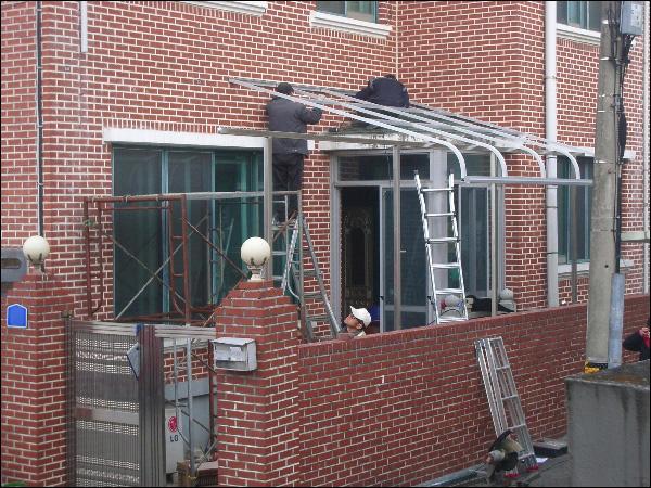 (20141210) 반투명 아크릴 지붕