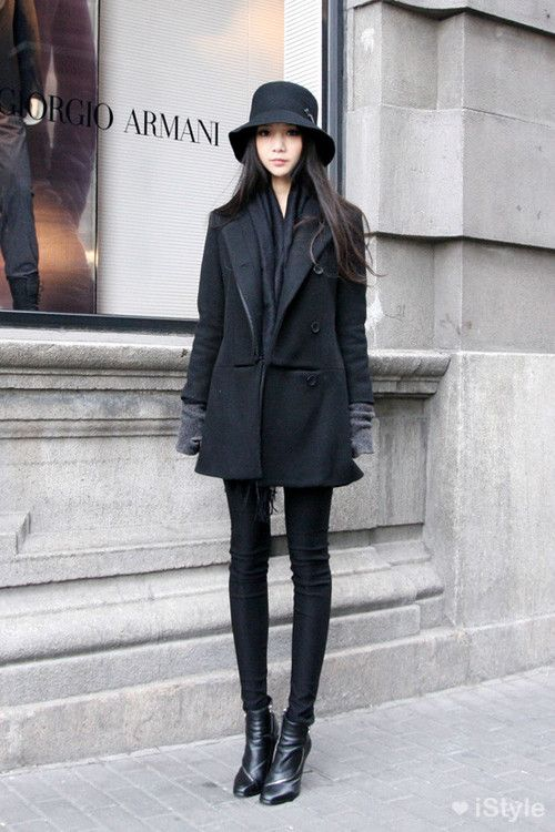 좋아하는 겨울 패션 + 잡담