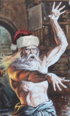 메리크리스마스. 저는 들어갑니다.