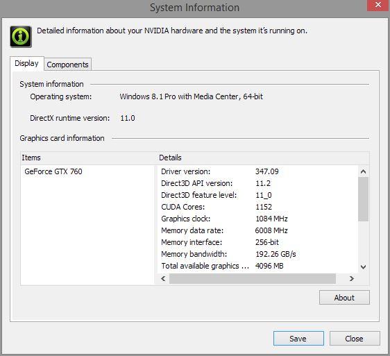 엔비디아 그래픽 드라이버 업데이트 - HDMI 모니터..