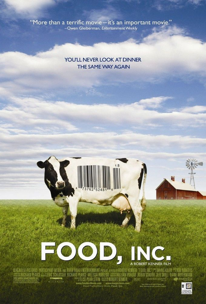 FOOD INC, 잡식동물의 딜레마.