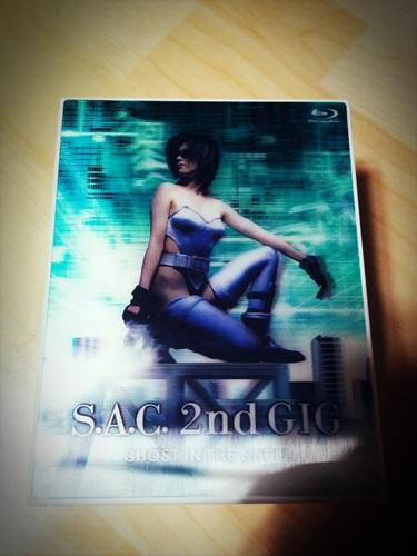공각기동대 SAC GIG Vol.1, 2 블루레이를 샀습니다.