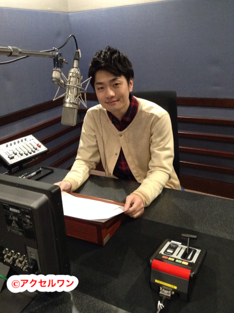성우 후쿠야마 준, NHK 교육TV 'R의 법칙'에 출연 예정