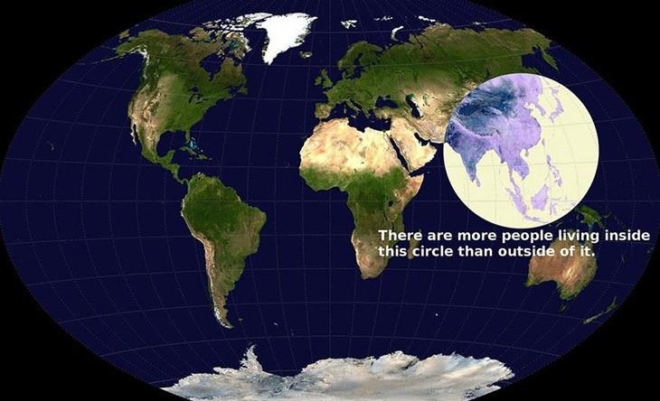 세계 인구의 절반이 사는 원