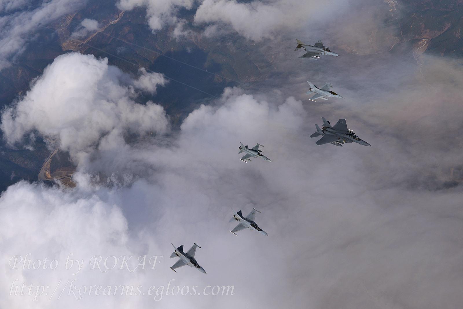 국산 FA-50 첫 참가 전역급 종합전투훈련 Soaring ..
