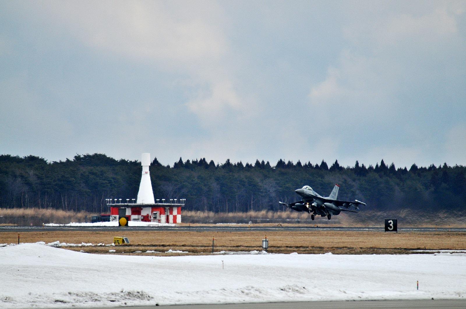 COPE NORTH 2015 훈련위해 이륙하는 Misawa 기지..