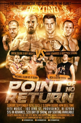 Beyond Wrestling Point Of No Return Review