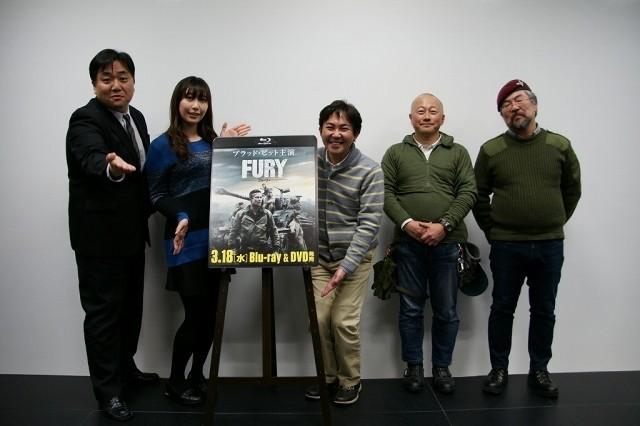 영화 '퓨리' 블루레이 & DVD 발매 기념, 베스트 오..