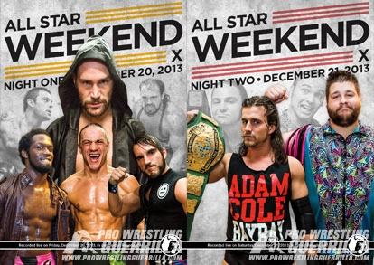 PWG All Star Weekend X Review