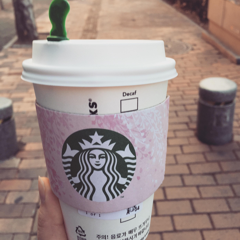 출근길 커피