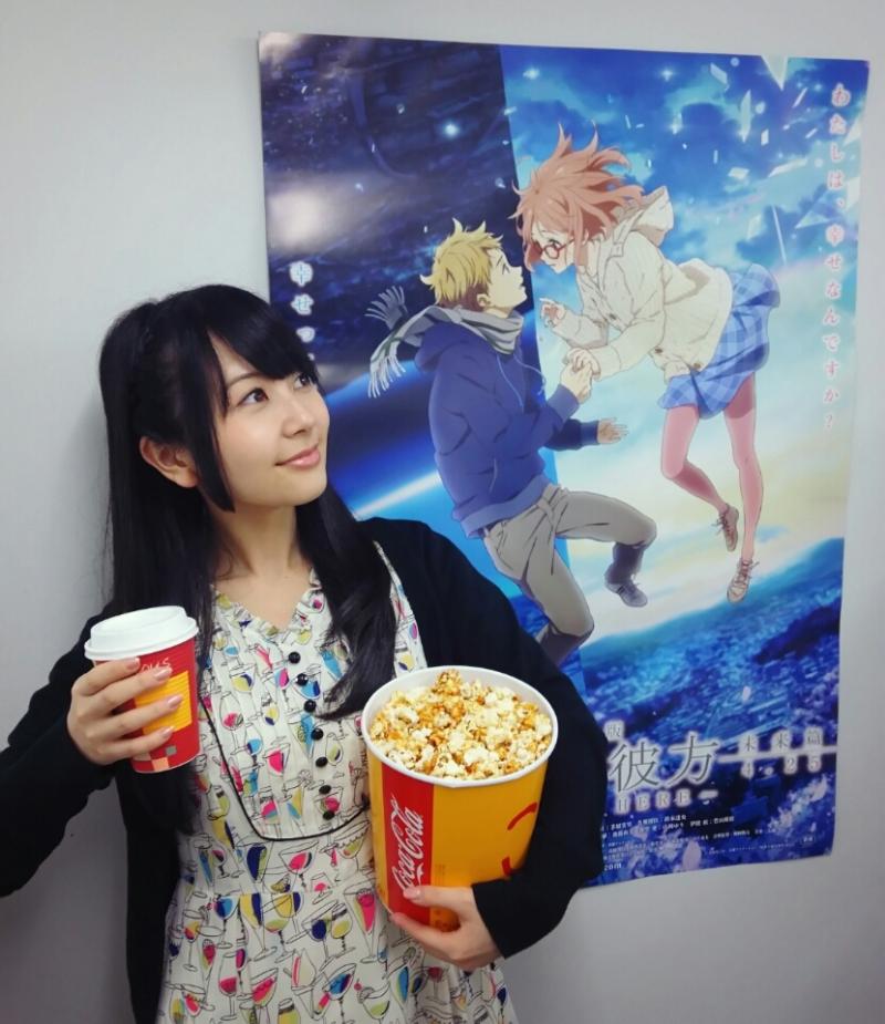 성우 야마오카 유리씨가 자신의 블로그에 올린 사진