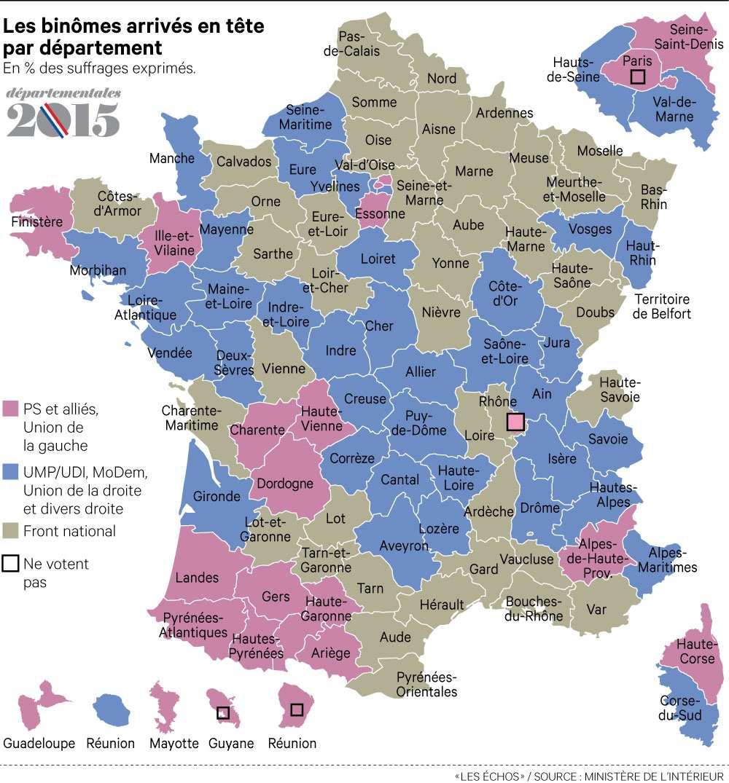 [프랑스 지방선거] 프랑스판 천하3분지계?