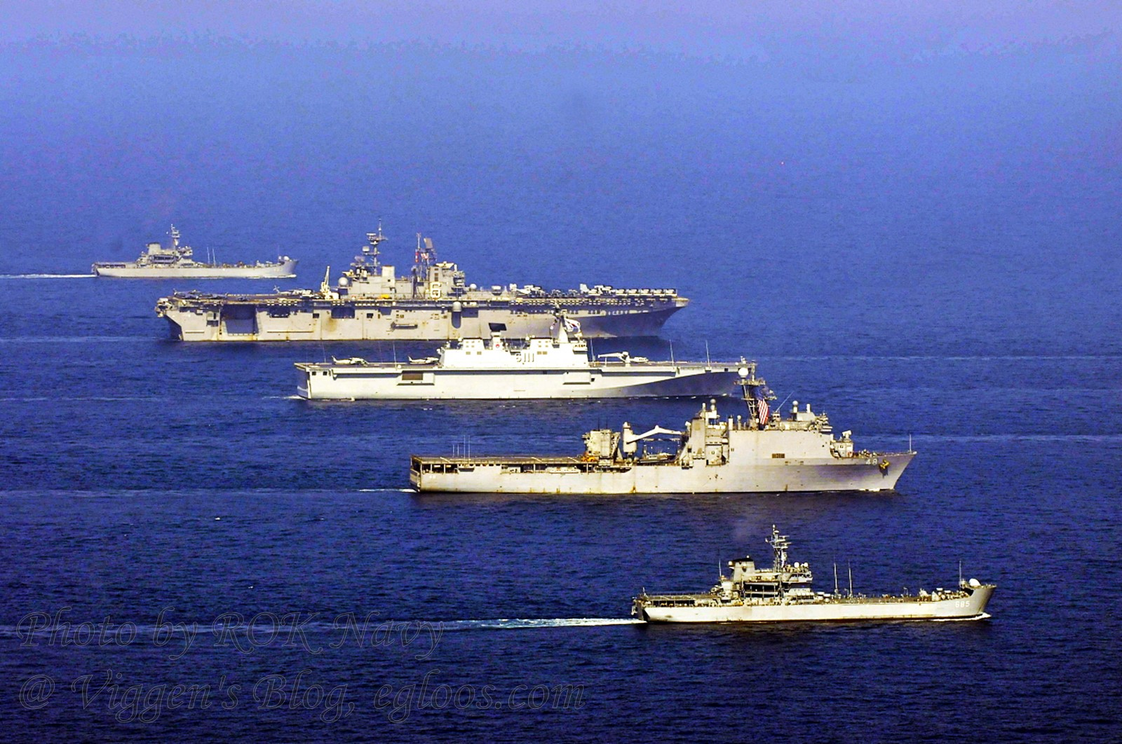 한미 해병대 연합 쌍용훈련 해상전개 훈련