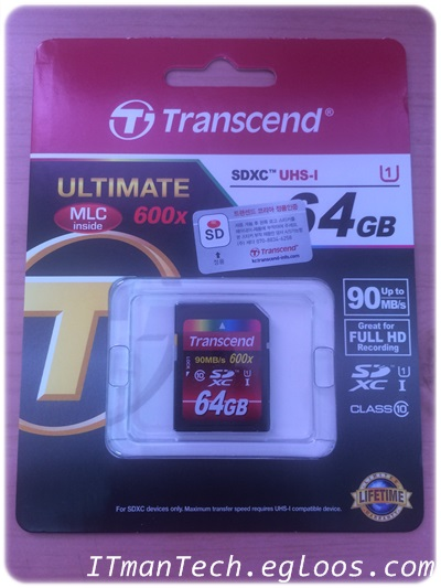 [트랜센드] Class10 U1 64GB UHS-I TS64GSDXC10U1