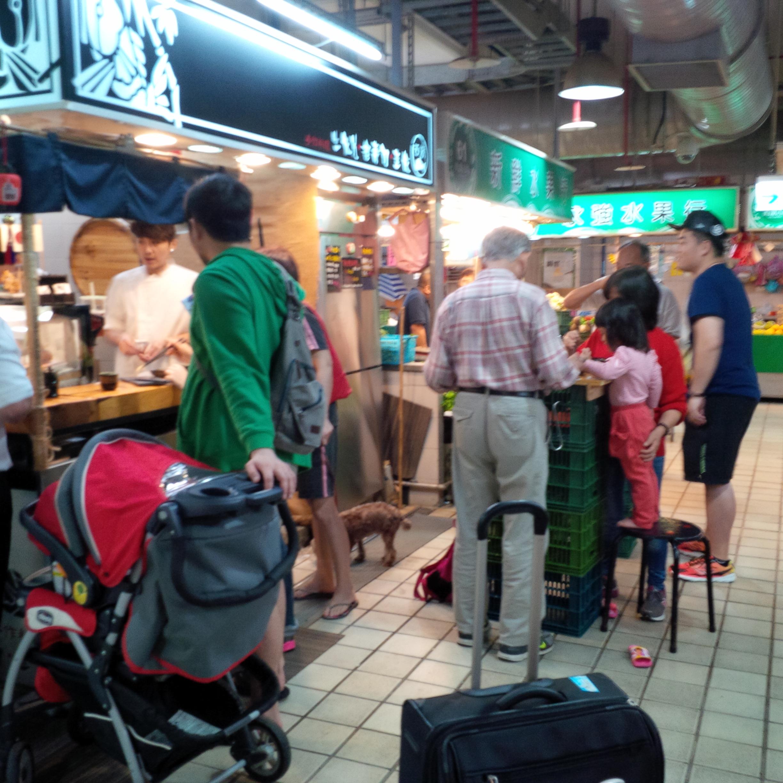 타이페이 서서 먹는 초밥집 최근 모습
