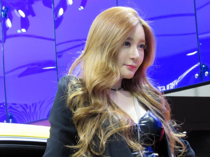 한지은 - 2015 서울모터쇼에서