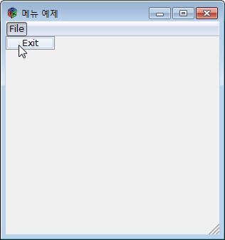 [D] GTK-D:메뉴